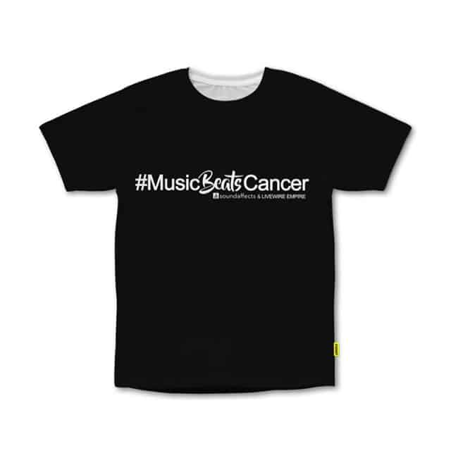 Music Beats Cancer T-Shirt